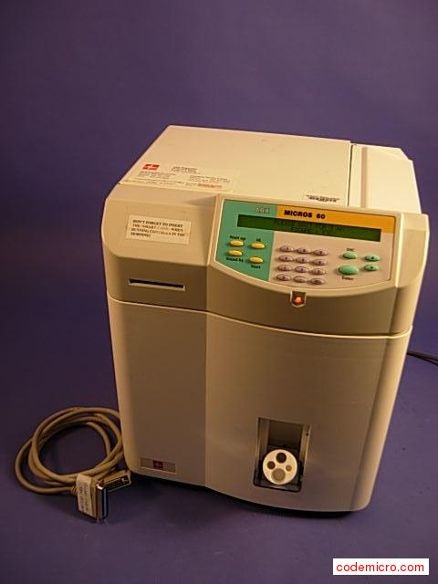 Hematology Analyzer: Date Of Mfr.:naincludes Printer Cable.